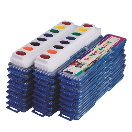 (Price/Pack of 36)Color Splash! Watercolor Mega Pack