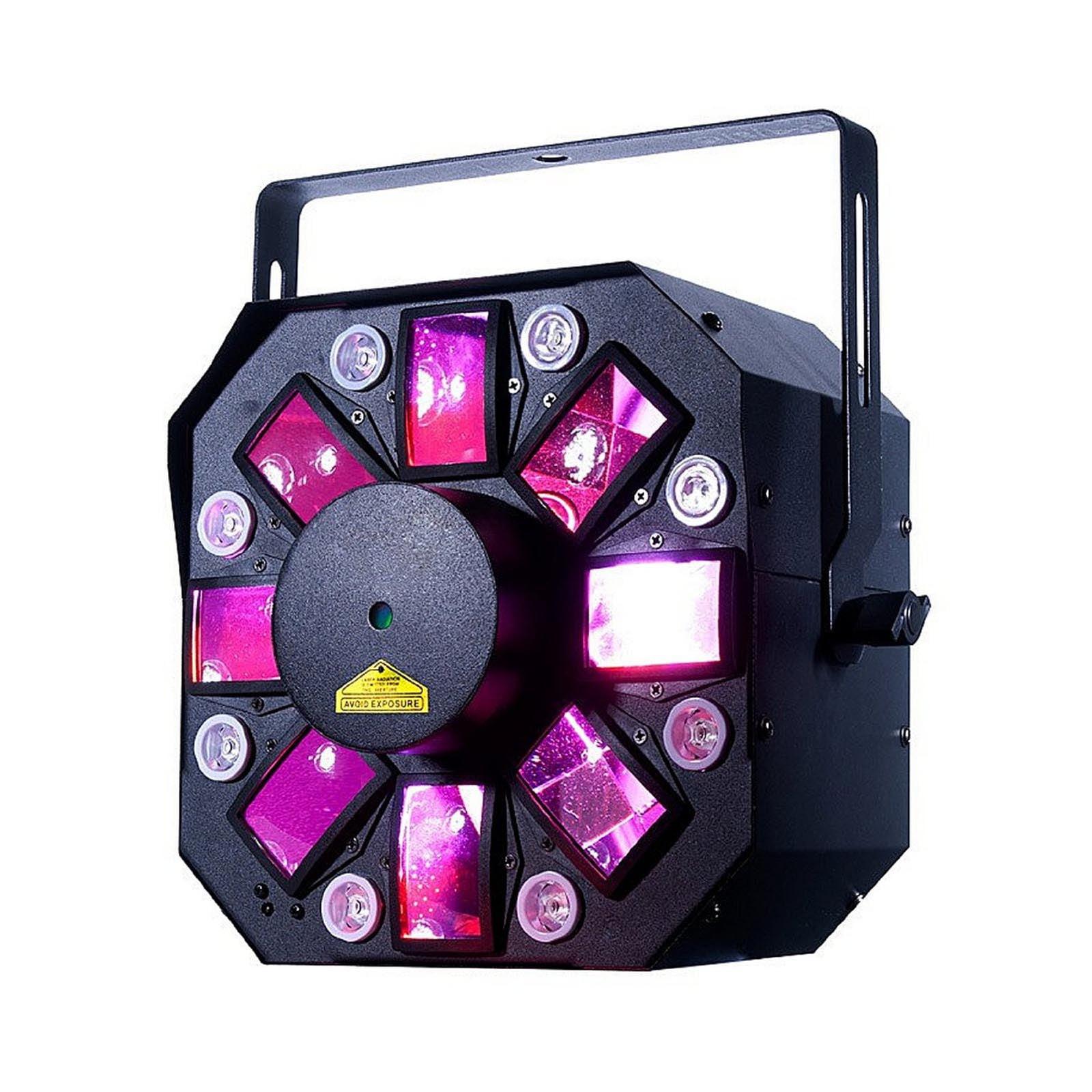 American DJ Stinger II 3 in 1 FX Moonflower Laser & UV Black Light | STINGER-II