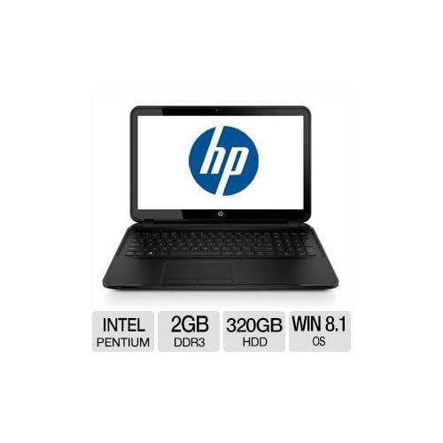 "HP 250 G2 Intel Pentium 2GB Memory 320GB HDD 15.6"" Notebook Windows 8.1 - F7V91UT#ABA"