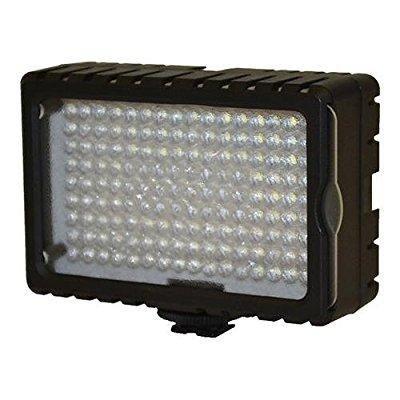 Bescor Led - Bescor 125 Watt Equivalent High Intensity 6500°K on Camera LED Light with Dimmer & 4300°K Correction Filter