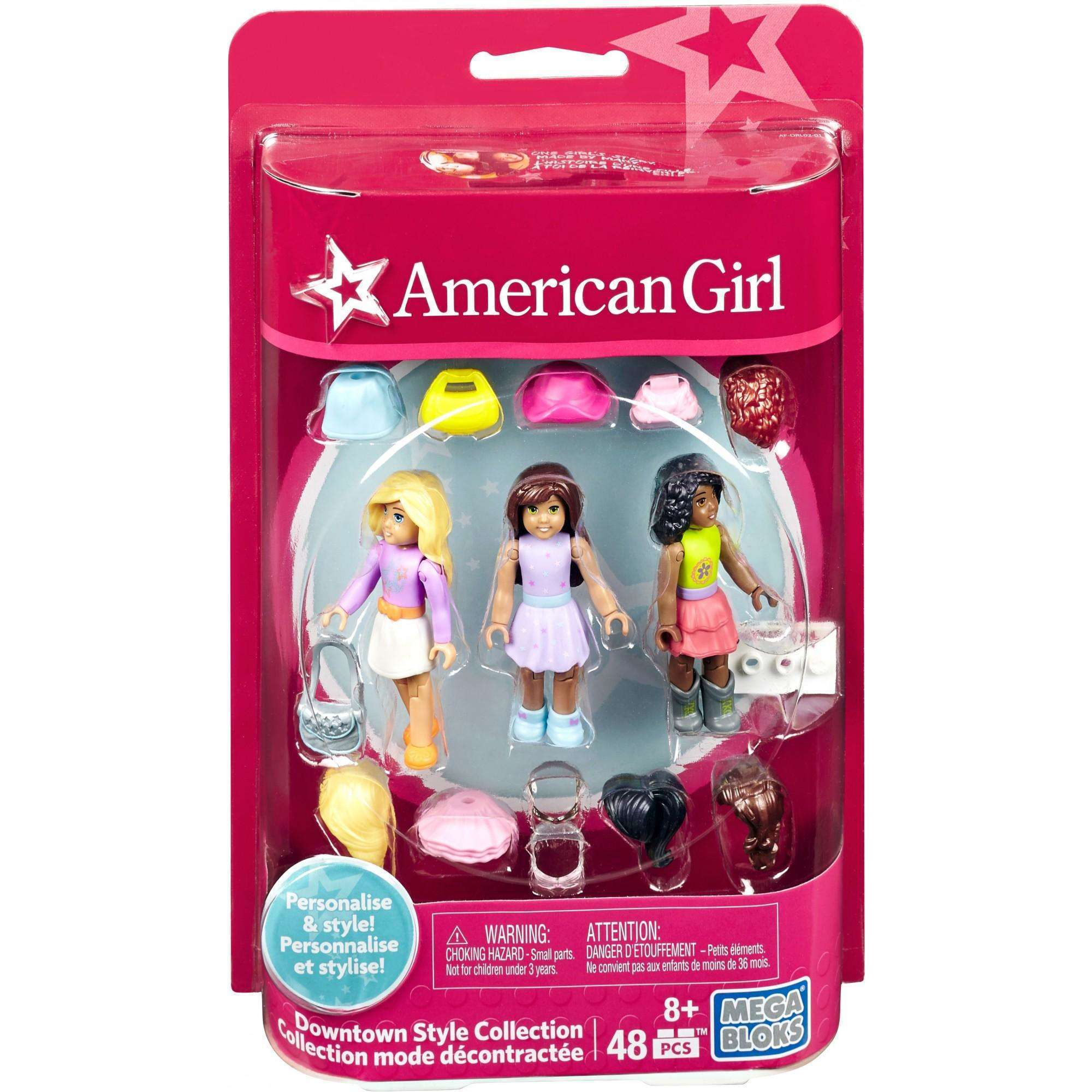 Mega Bloks American Girl Figurine Downtown Style Collection