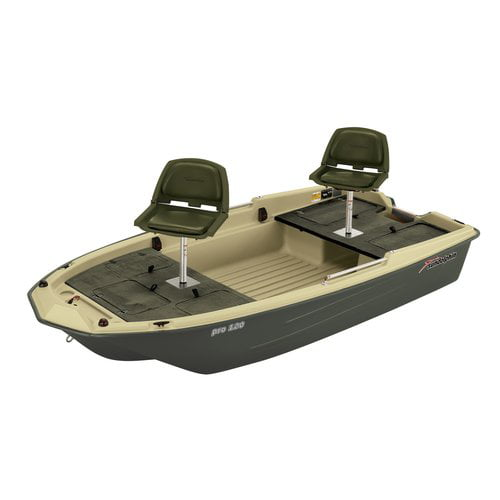 Sun Dolphin Pro 2-Man 120 Fishing Boat by KL Outdoor