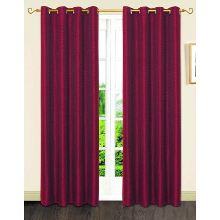 Dainty Home Gloria Room Darkening Grommet Single Window Curtain Panel