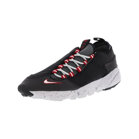 pretty nice 4ad75 93c1c Nike Men s Air Footscape Nm Obsidian   Team Orange Ankle-High Running Shoe  - 8.5 ...