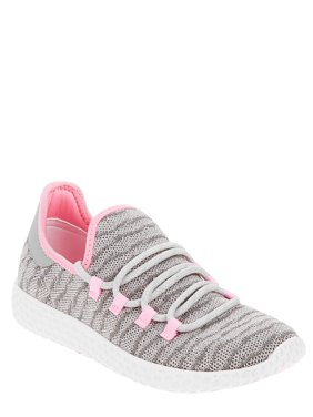 Wonder Nation Girls' Lightweight Knit Sneaker