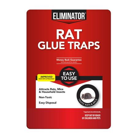 Rat Glue (Eliminator Rat Glue Trap, 1 count)