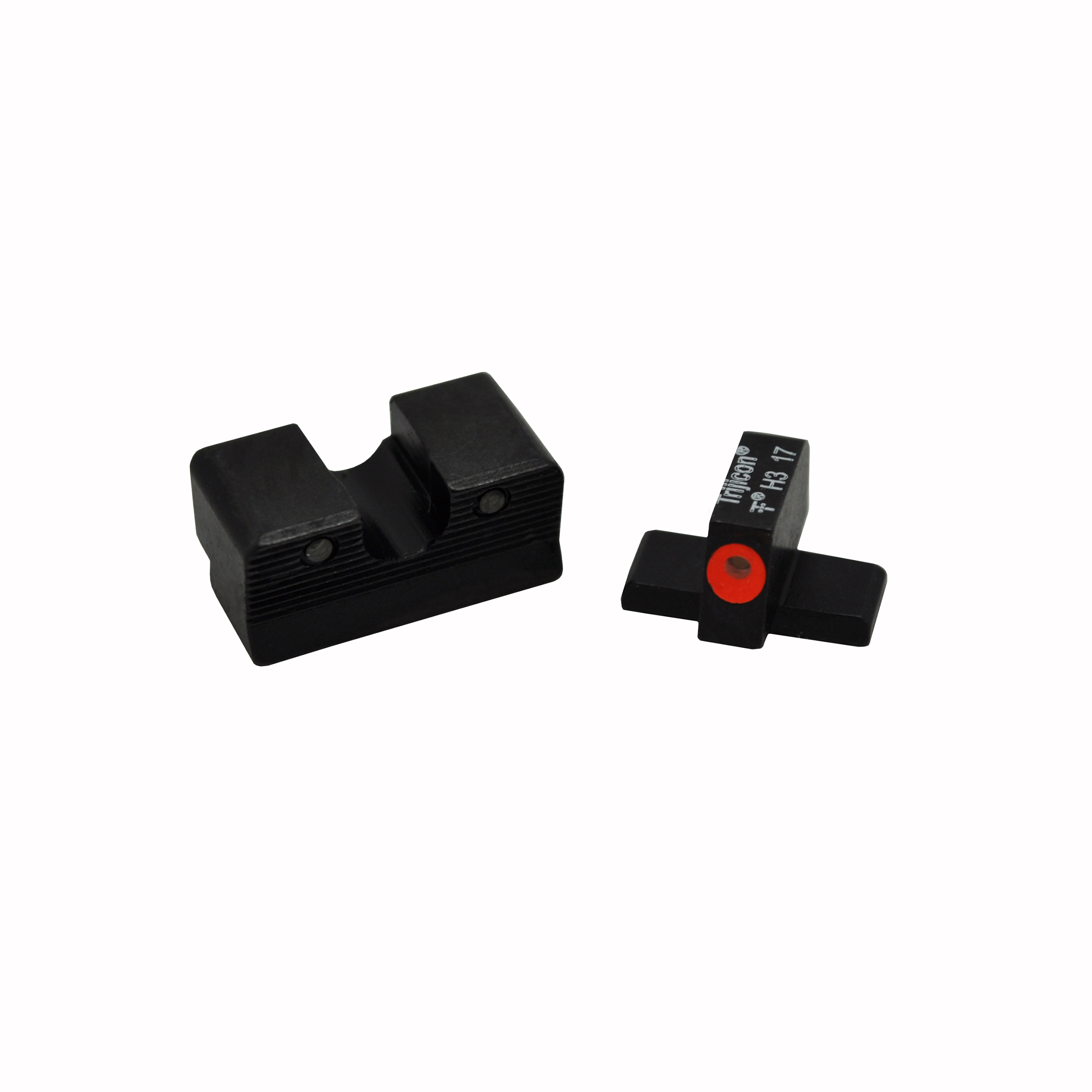 Trijicon HD XR Night Sight Set Sig Sauer Calibrated for .40 S&W and .45ACP, Orange Front Outline Lamp by Trijicon