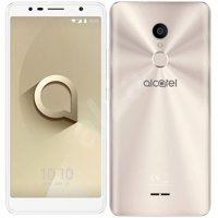 "Alcatel 3C 5026D 6.0"" 3G Dual Sim Octa-Core 16Gb + 1GB RAM 13Mp + 8Mp Dual Led Factory Unlocked Smartphone (Gold)"