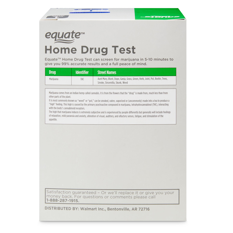 Equate 1 Panel Home Drug Test - Walmart com