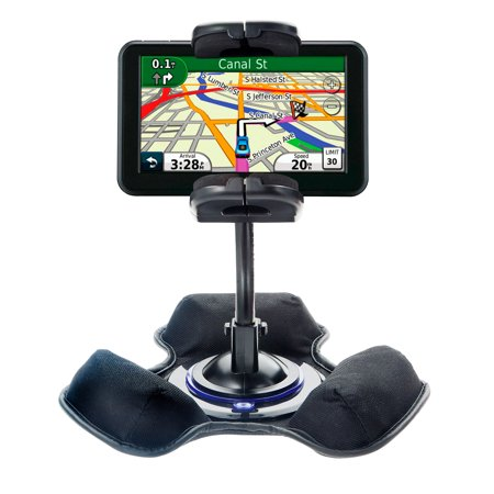 Vehicle Mount System - Car / Truck Vehicle Holder Mounting System for Garmin Nuvi 50 50LM Includes Unique Flexible Windshield Suction and Universal Dashboard Mount Options