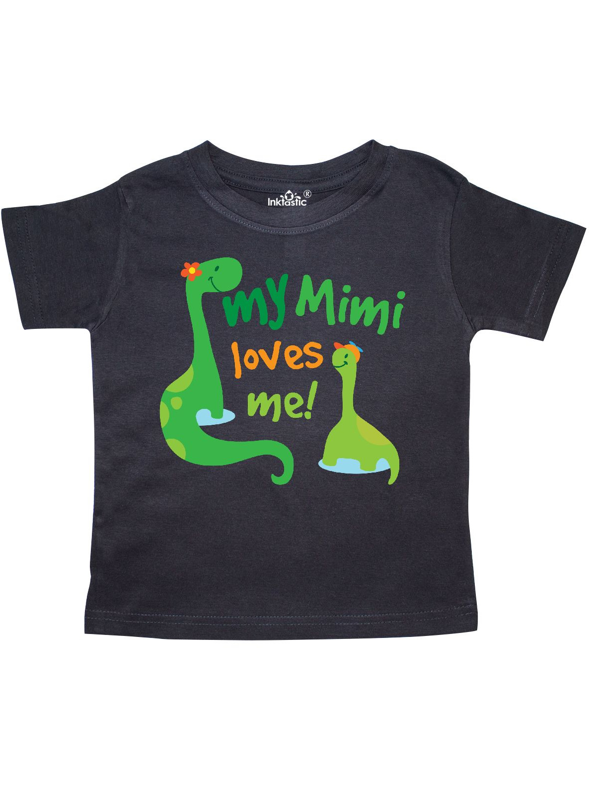 My Mimi Loves Me Grandson Gift Toddler T-Shirt