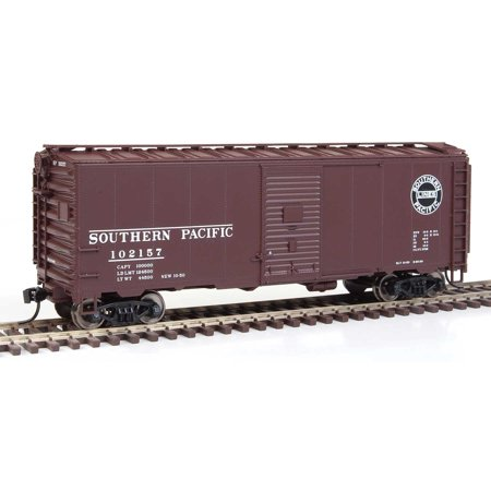 Walthers HO Scale 40' AAR 1948 Boxcar Southern Pacific/SP/Small Logo (Ho Southern Pacific Boxcar)