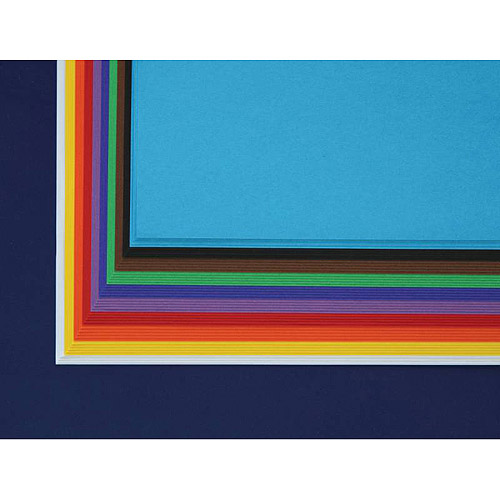 "Sax 100% Sulphite Art Paper, 12"" x 18"", Pack of 50 Sheets"