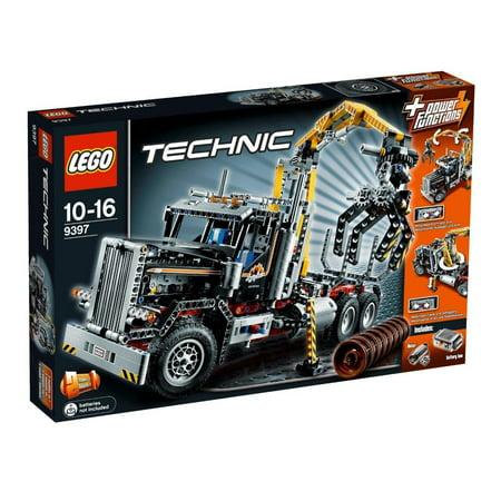 Lego Technic 9397 Logging Truck (Lrg Trunk)