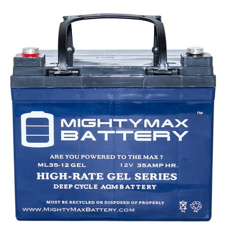 12V 35AH GEL Battery for U1 One New Wheelchair Deep Cycle