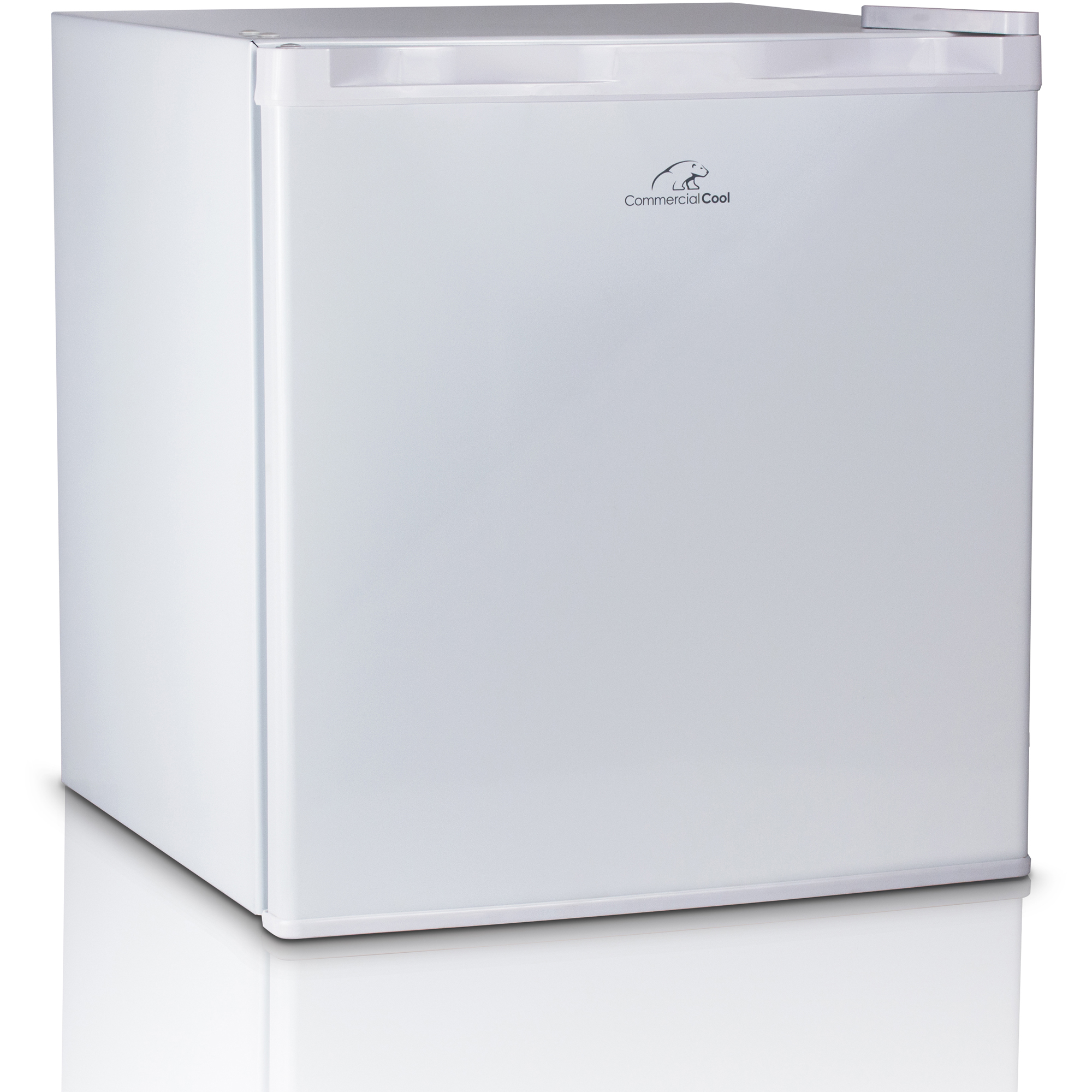 Commercial Cool 3.2 cu ft 2 Door Refrigerator with Freezer, White