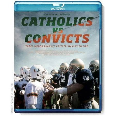 Espn Films 30 For 30  Catholics Vs  Convicts  Blu Ray