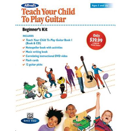 Alfred's Teach Your Child to Play Guitar -- Beginner's Kit : Ages 5 and Up, Boxed Set (Starter