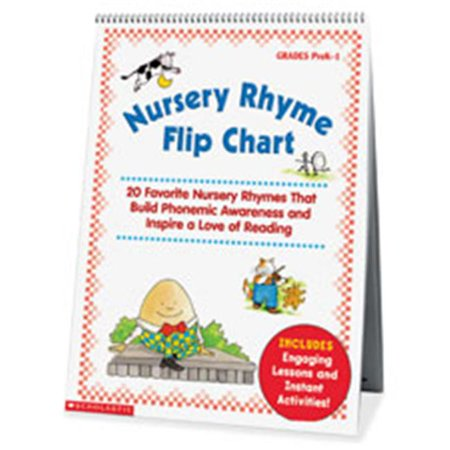 Scholastic Teaching Resources SHS0439513820 Nursery Rhyme Flip Chart, Multicolor - image 1 of 1