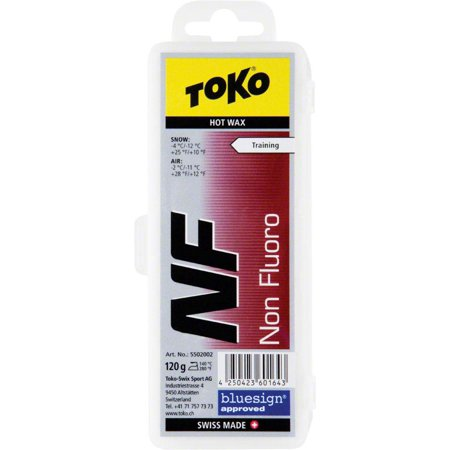 Toko Non Fluorinated Glide Wax: Red, 120g
