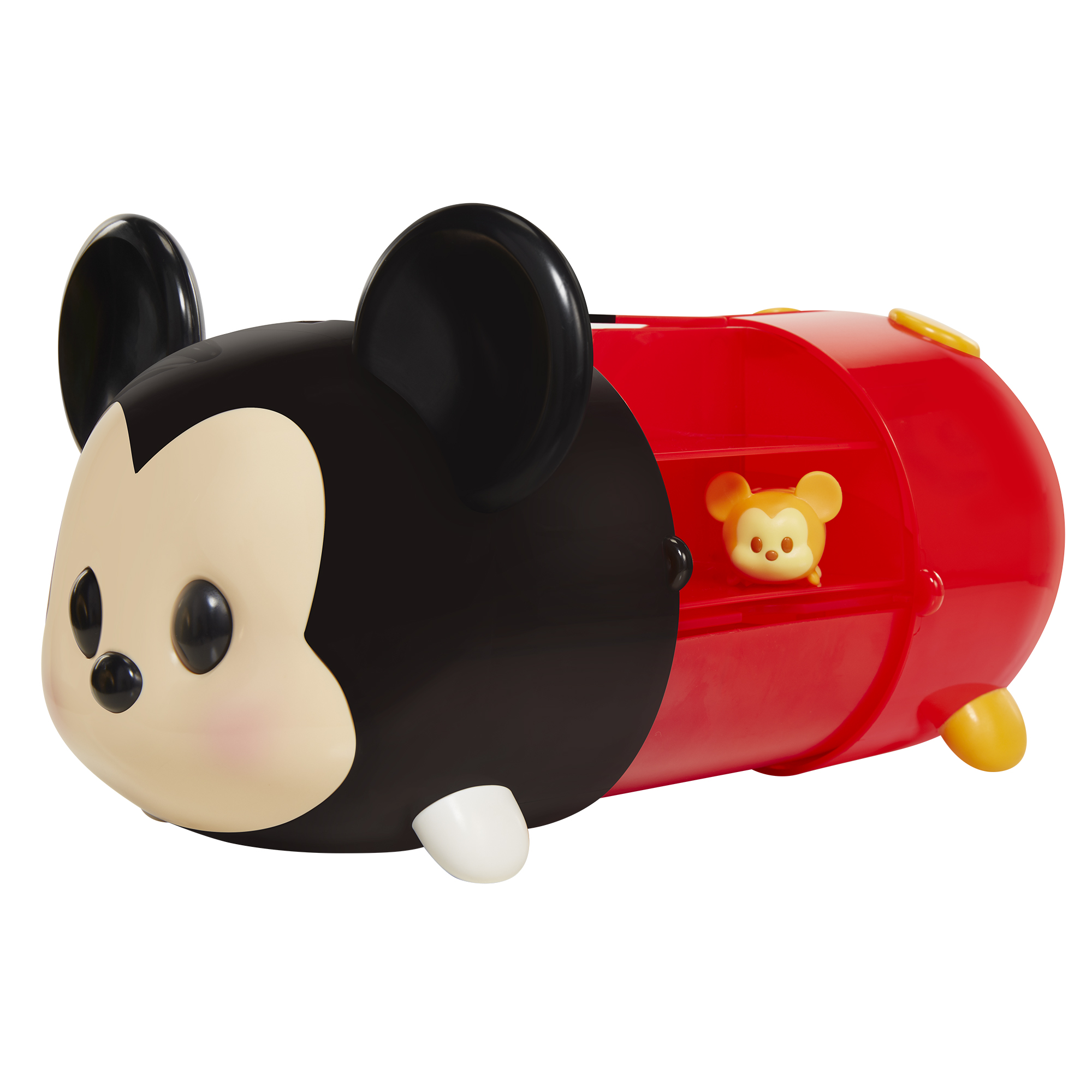 Jakks Pacific New Tsum Tsum Mickey Case with 1 Large Crystal Figure