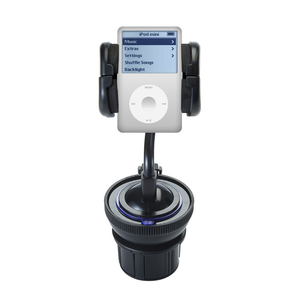 Gomadic Unique Auto Cupholder and Suction Windshield Dual...