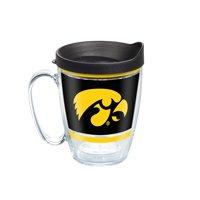 NCAA Iowa Hawkeyes Legend 16 oz Coffee Mug with lid