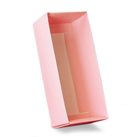 Light Pink Slider Macaron Box Base 6