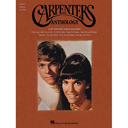 Carpenters Anthology: Piano Vocal Guitar by