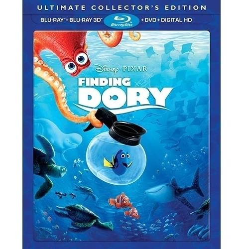 Finding Dory (Ultimate Collector's Edition) (Blu-ray + Blu-ray 3D + DVD + Digital HD)