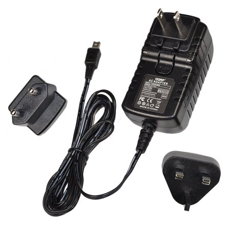 Camera Plug - HQRP Replacement AC Adapter / Charger for JVC GZ-MG57 / GZ-MG57U / GZ-MG57US / GZ-MG630 Camcorder + HQRP Euro Plug Adapter