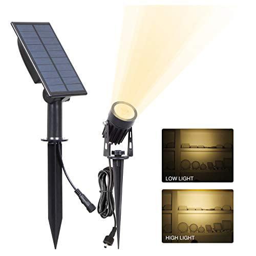 Details about  /Garden Solar Light Waterproof Decorative Cloth LED Outdoor Path Road Spot Lamp