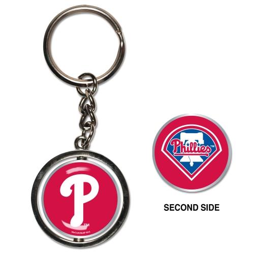 Philadelphia Phillies Spinner Key Ring - No Size