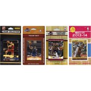 CandICollectables CAVS4TS NBA Cleveland Cavaliers 4 Different Licensed Trading Card Team Sets