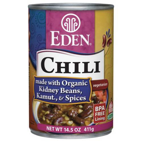 Eden Chili - Kidney Beans & Kamut, 14.5 Ounce (Pack of 6)