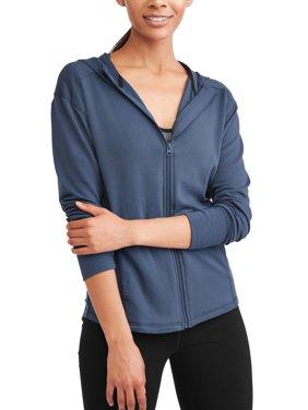 65928fa5e56fd Product Image Avia Women's Core Active Full Zip Hoodie with Thumbholes