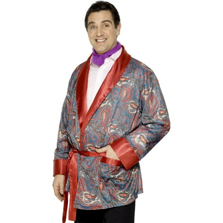 Adult's Mens Tales Of Old England Paisley Smoking Jacket Costume](Vee Lounge Halloween)