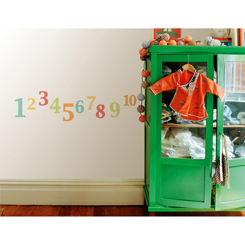 Fun4Walls Numbers Wall Stickers