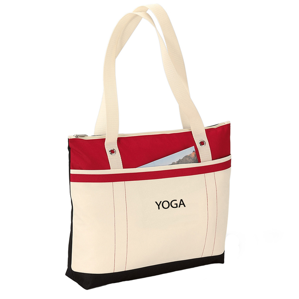 Personalized Fitness Fun Tote - Monogrammed Tote