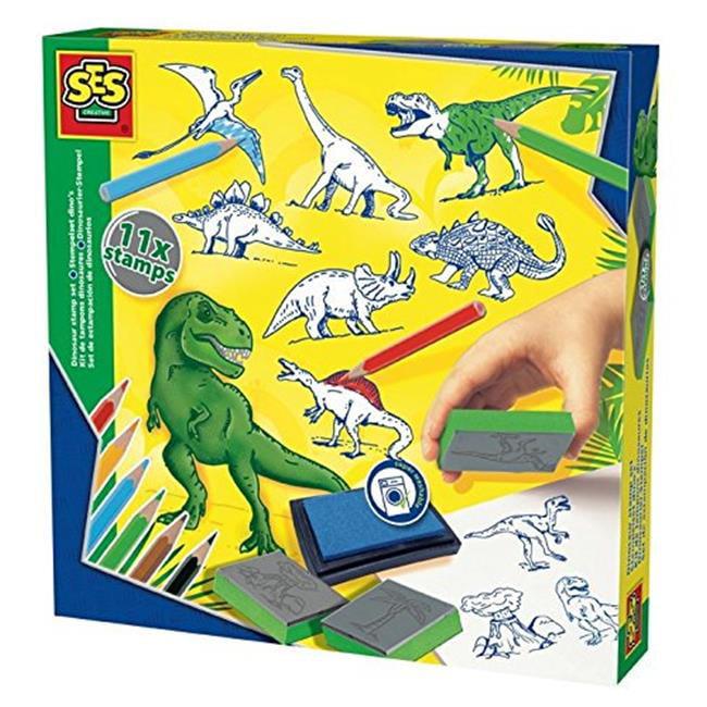 SES Creative 14919 Stamp Set - Dinosaur, Case of 8 - image 1 of 1