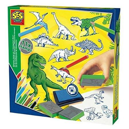 Dinosaur Stamps - SES Creative Stamp Set - Dinosaur