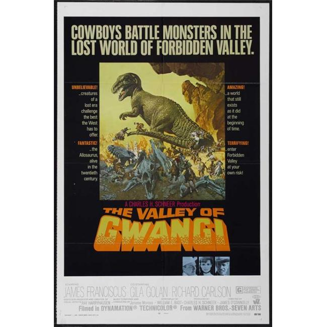 Posterazzi MOVCJ2651 The Valley of Gwangi Movie Poster - 27 x 40 in. - image 1 of 1