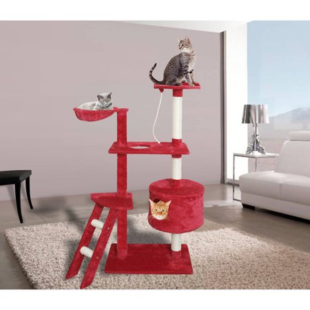 (Premium Cat Tree Tower Condo Scratch Furniture, 58