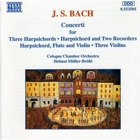 - Concerti for Harpsichord Flute & Violin