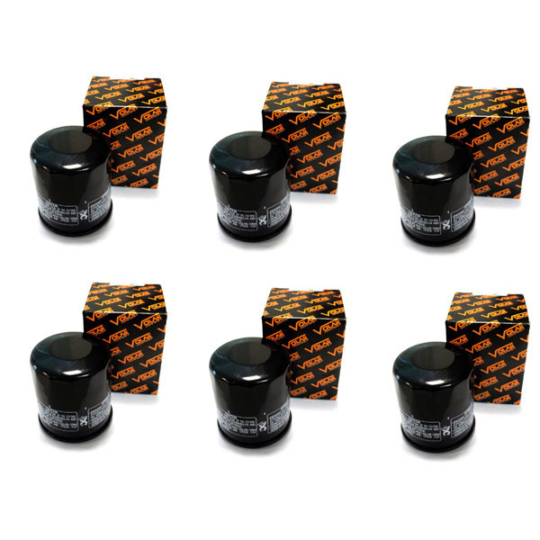 2001-2004 Suzuki Intruder Volusia 800 VL800 Oil Filter - (6 pieces)