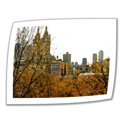 ArtWall 'Urban Autumn, NYC' by Linda Parker Photographic Print on Canvas