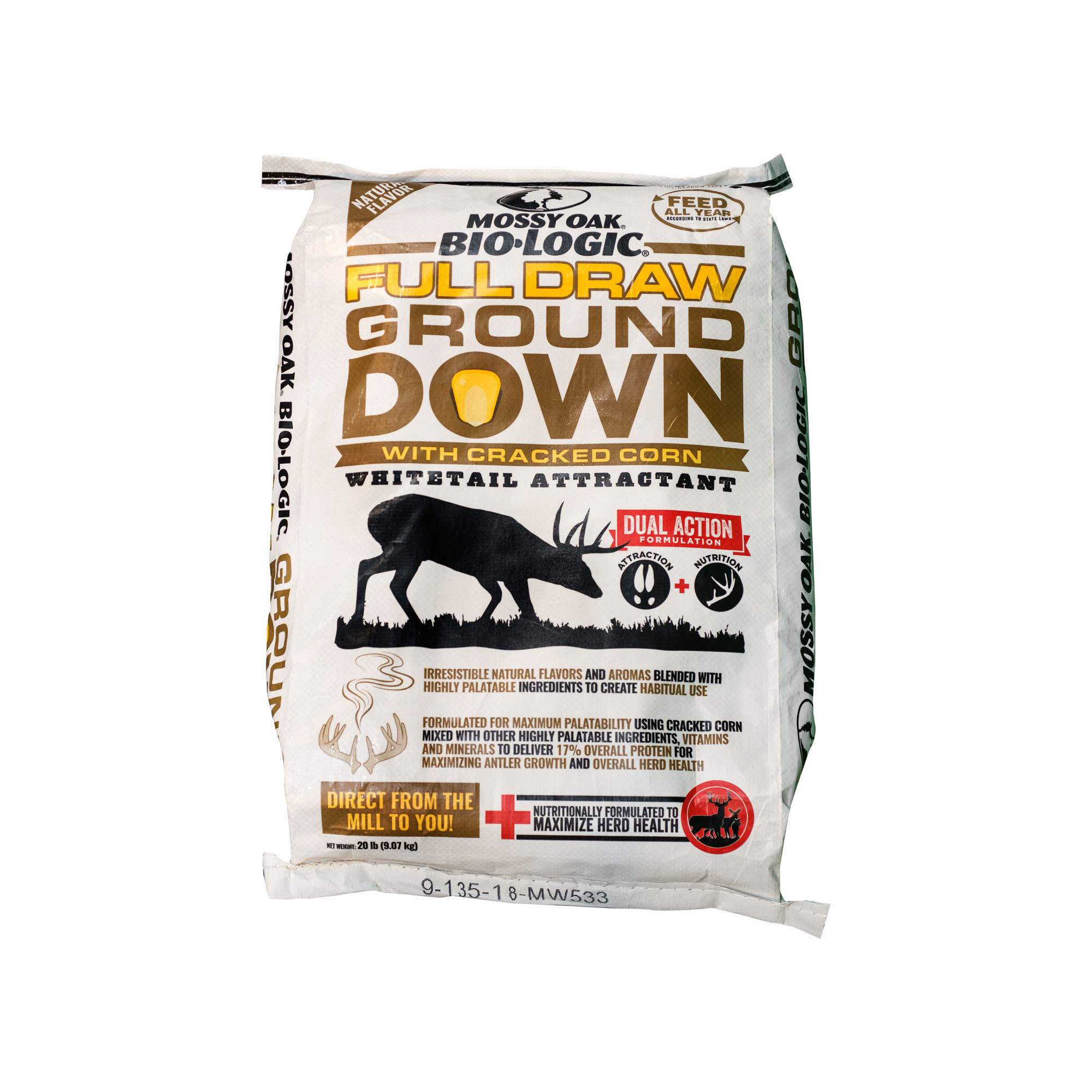 Mossy Oak BioLogic Full Draw Ground Down Corn Deer Attractant