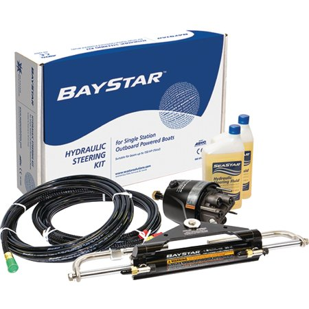 SeaStar HK4300A-3 BayStar Standard Helm Compact Hydraulic Steering System without Hoses