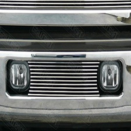 Grillcraft FOR1354-BAO BG Series Polished Aluminum Lower 1pc Billet Grill Grille Insert for Ford Excursion F250 Super Duty