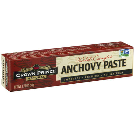 (3 Pack) Crown Prince Natural Anchovy Paste, 1.75 oz